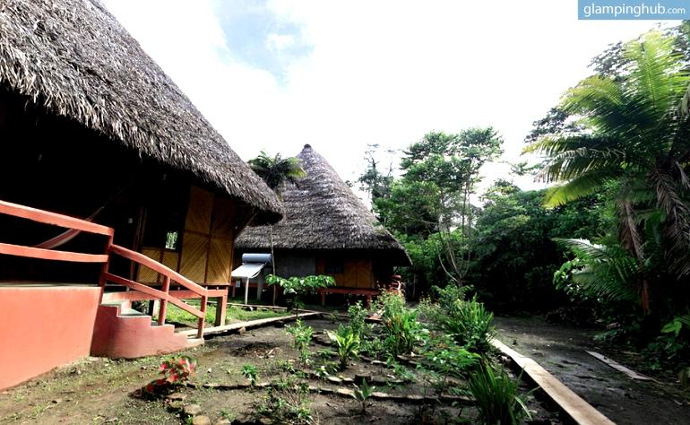 Unique Eco Lodges Tucked Into Rainforest Jungle Ecuador