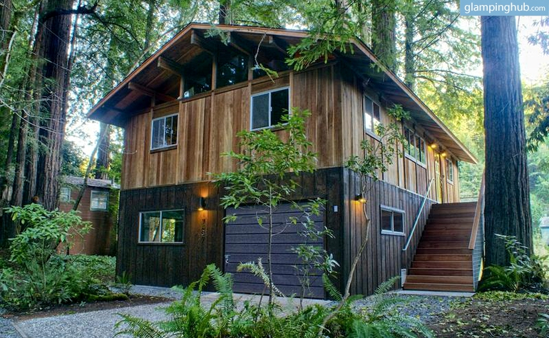 Northern california cabin for Russian river cabins guerneville
