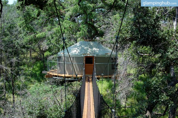 Tree House near Austin, Texas