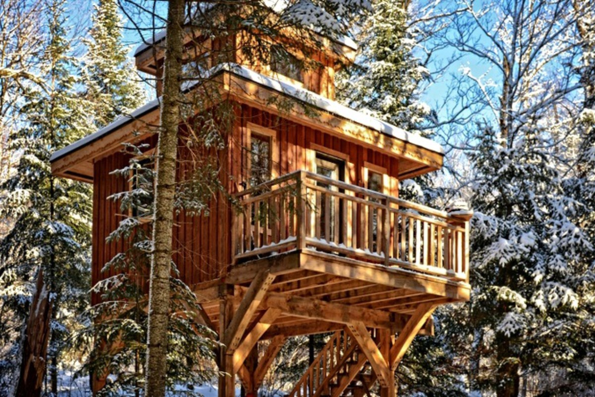 tree house getaways